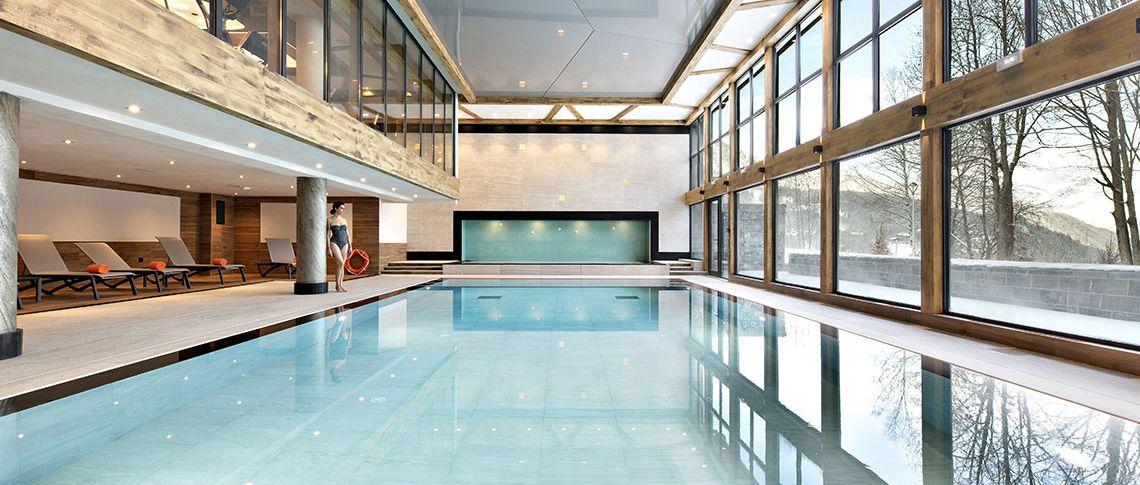 Swiming pool Chalets Éléna - Les Houches