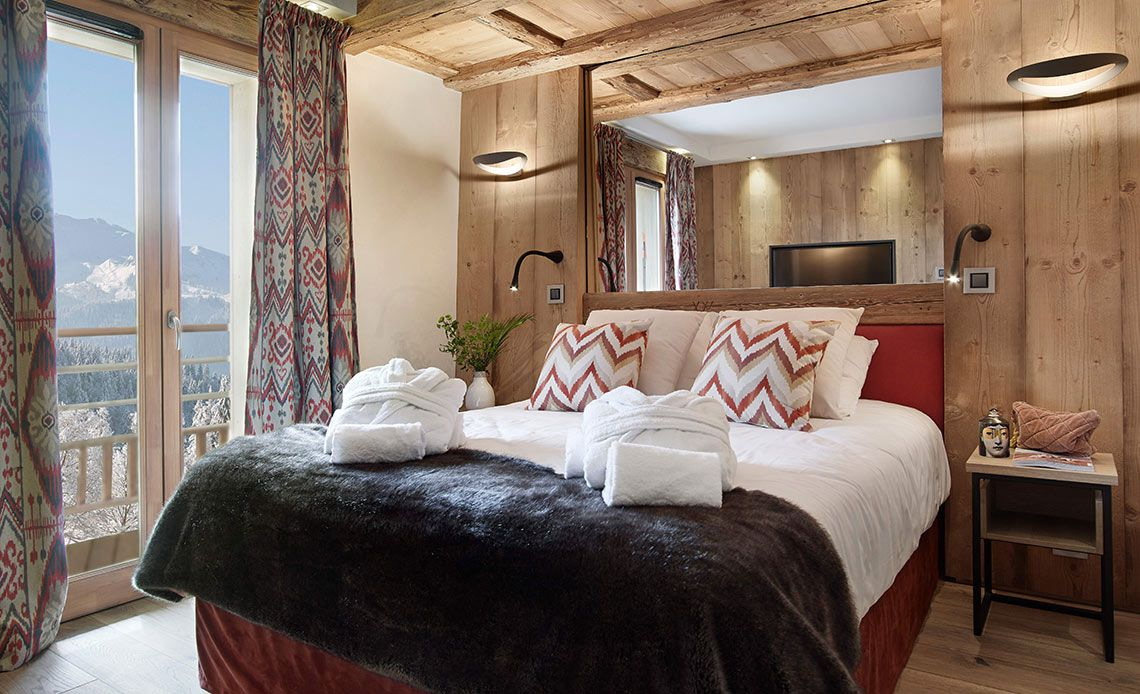Résidence Alexane chambre | Samoëns Grand-Massif | MGM Hôtels & Résidences