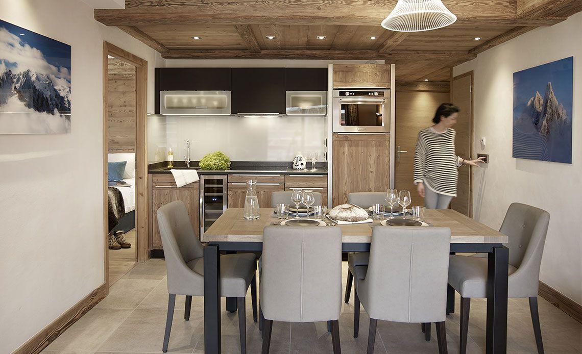 Résidence Alexane salle à manger | Samoëns Grand-Massif | MGM Hôtels & Résidences
