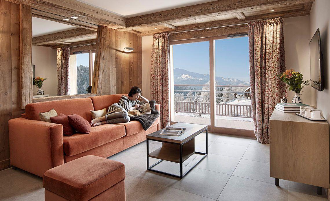 Résidence Alexane salon | Samoëns Grand-Massif | MGM Hôtels & Résidences