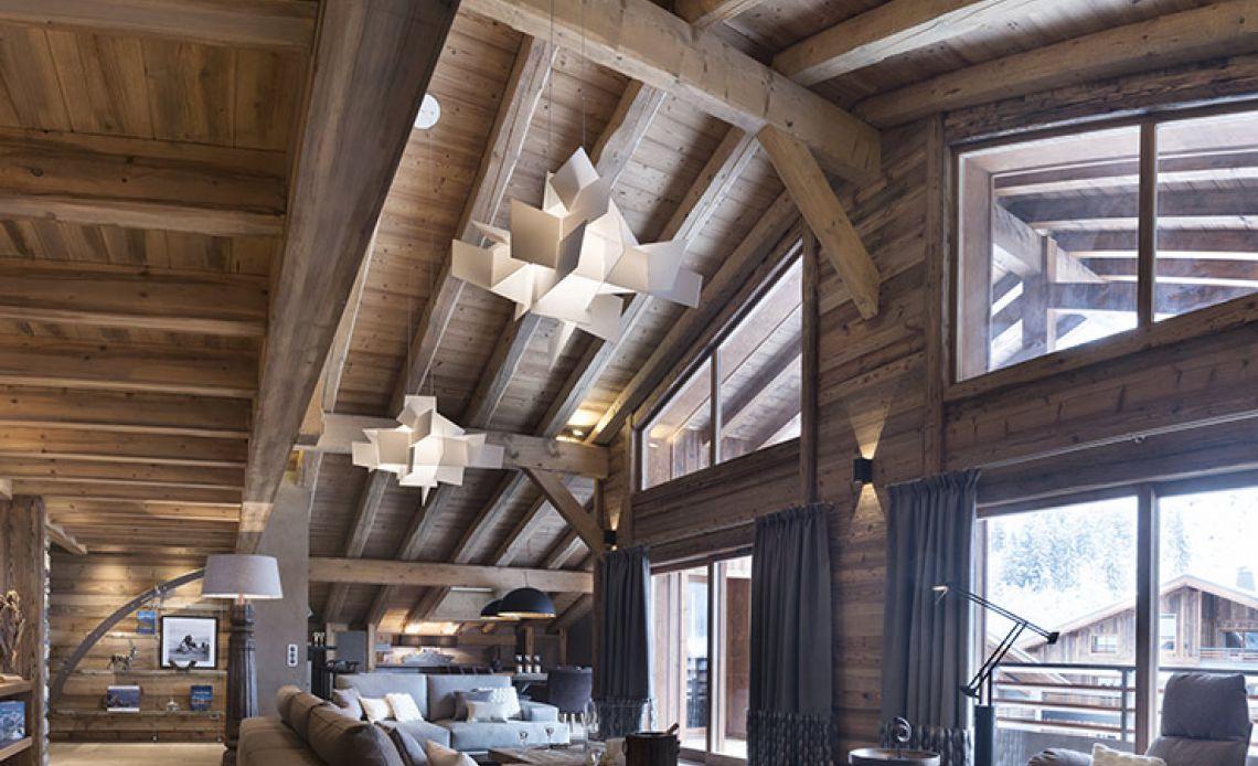Appartement Écrin de Jade - Salon - Le Cristal de Jade - Chamonix Mont-Blanc | MGM Hôtels & Résidences