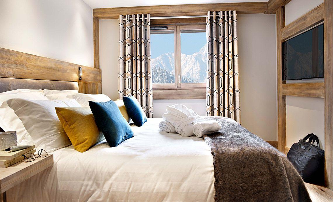 Chalets Éléna - bedroom | Résidence Chamonix - Les Houches | MGM Hôtels & Résidences