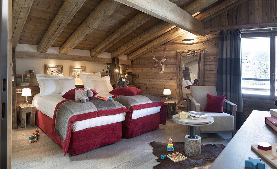 Appartement Écrin de Jade - Chambre d'enfant - Le Cristal de Jade - Chamonix Mont-Blanc | MGM Hôtels & Résidences