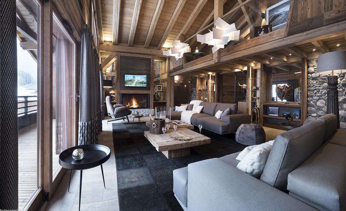 Appartement Écrin de Jade - Séjour - Le Cristal de Jade - Chamonix Mont-Blanc | MGM Hôtels & Résidences