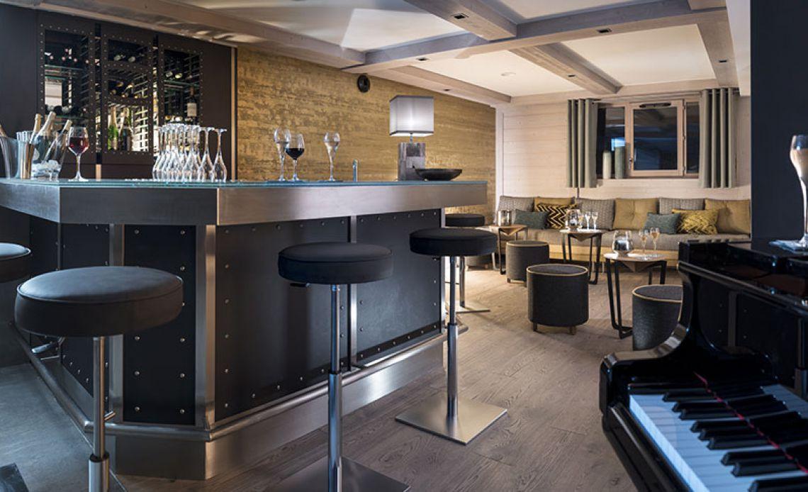 Piano bar - Roc des Tours - Le Grand-Bornand - MGM