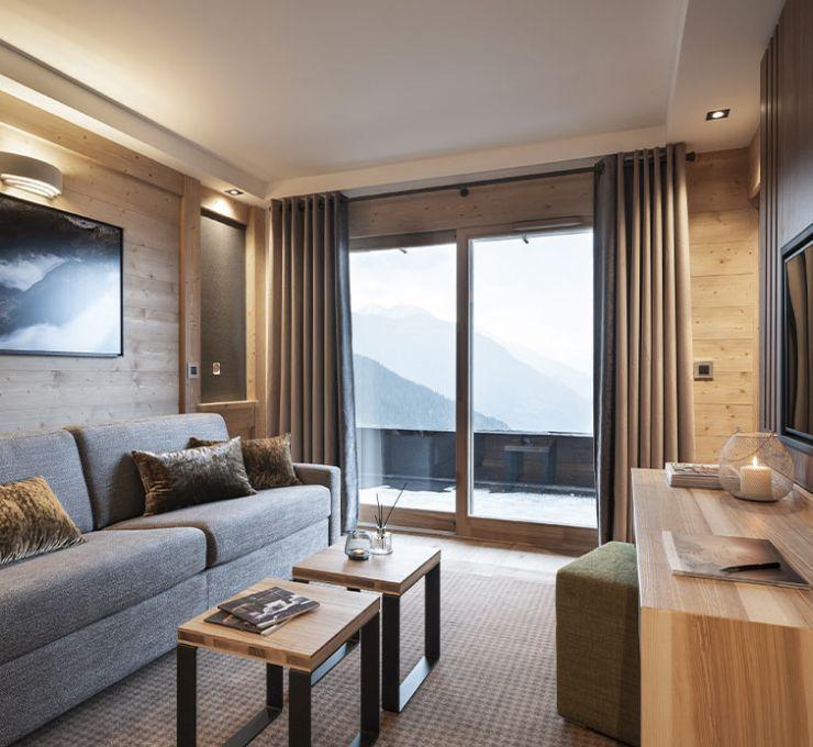 Apartment Suite - Hôtel Alpen Lodge la Rosière | MGM Hôtels & Résidences