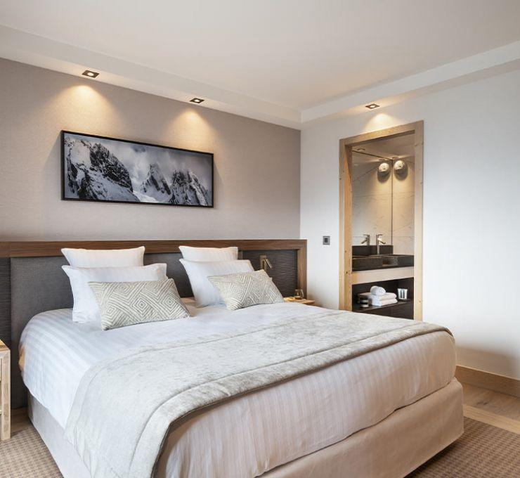 Suite Junior Prestige - Hôtel Alpen Lodge la Rosière | MGM Hôtels & Résidences