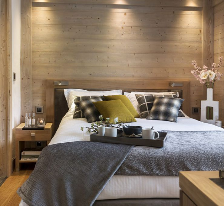 Roc des Tour Bedroom - Le Grand-Bornand