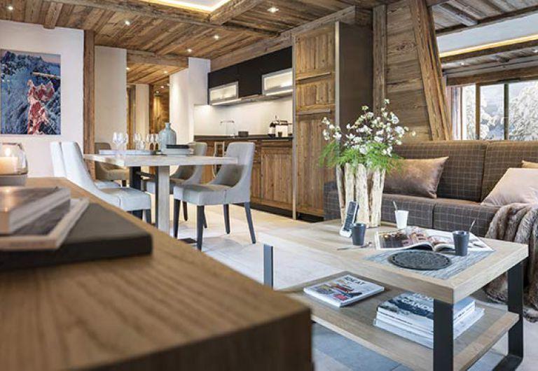 Tous les chalets de luxes - Méribel, le Grand-bornand, Chamonix | MGM Hôtels & Résidences