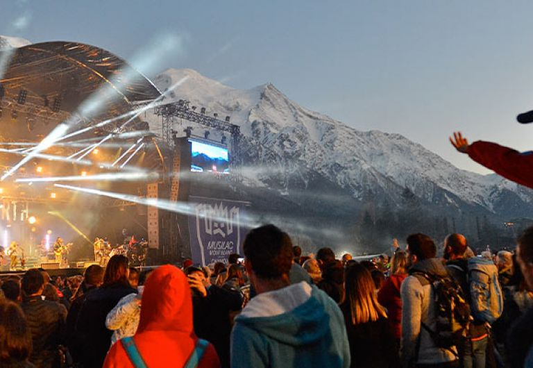 Musilac Mont-Blanc festival stay