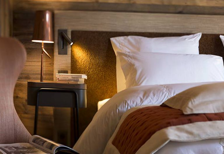 La Ferme de Juliette- chambre- Chalet de Luxe - Le Grand-Bornand | MGM Hotels & Résidences