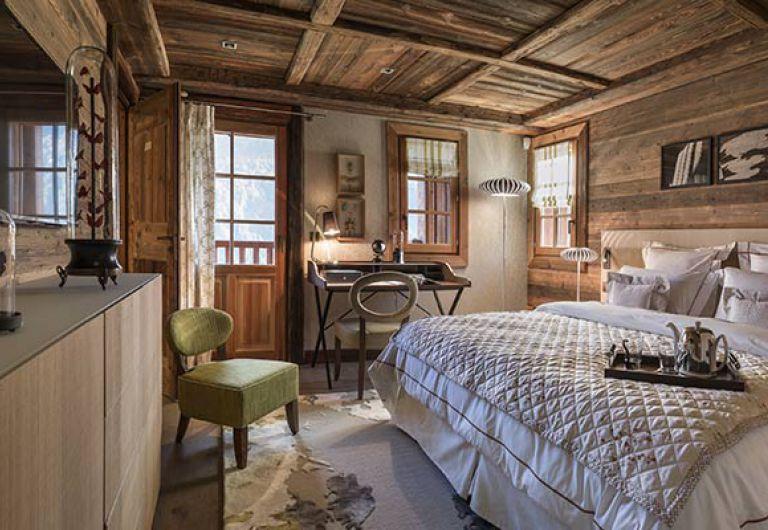 La Ferme de Juliette- chambre parentale - Chalet de Luxe - Le Grand-Bornand | MGM Hotels & Résidences