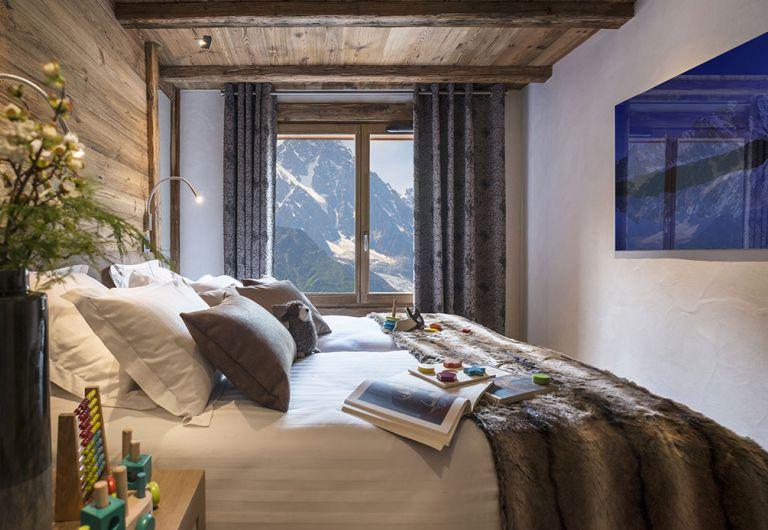 Chambre  le Cristal de Jade - Chamonix Mont-Blanc | MGM Hôtels & Résidences