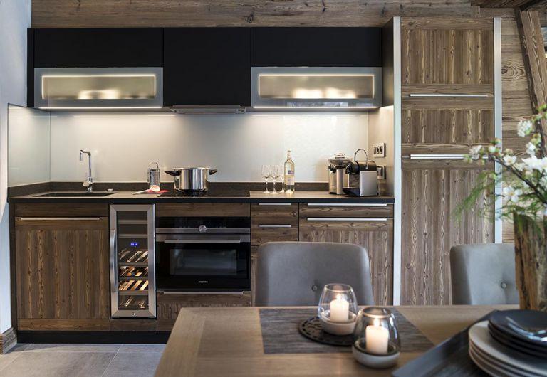 Cuisine  le Cristal de Jade - Chamonix Mont-Blanc | MGM Hôtels & Résidences
