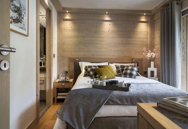 Chambre Le Roc des Tours - Appartement Le Grand-Bornand Chinaillon | MGM Hôtels & Résidences