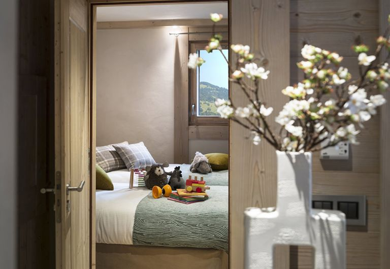 Chambre enfant Le Roc des Tours - Appartement Le Grand-Bornand Chinaillon | MGM Hôtels & Résidences