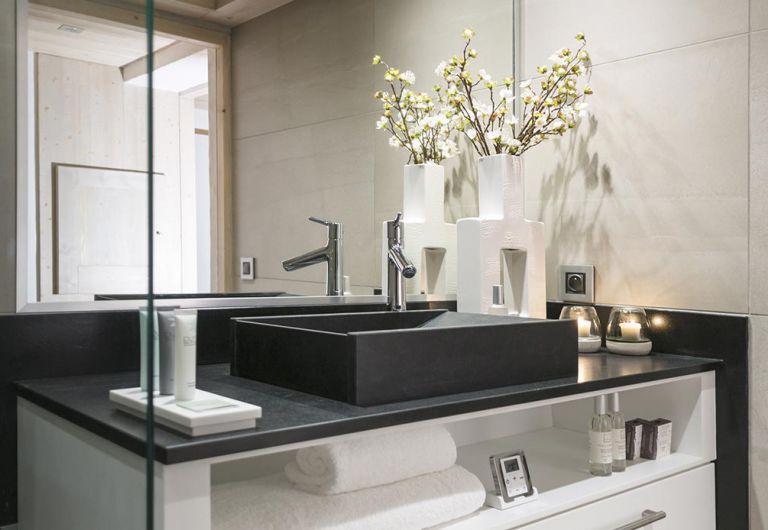 Salle de bains Le Roc des Tours - Appartement Le Grand-Bornand Chinaillon | MGM Hôtels & Résidences