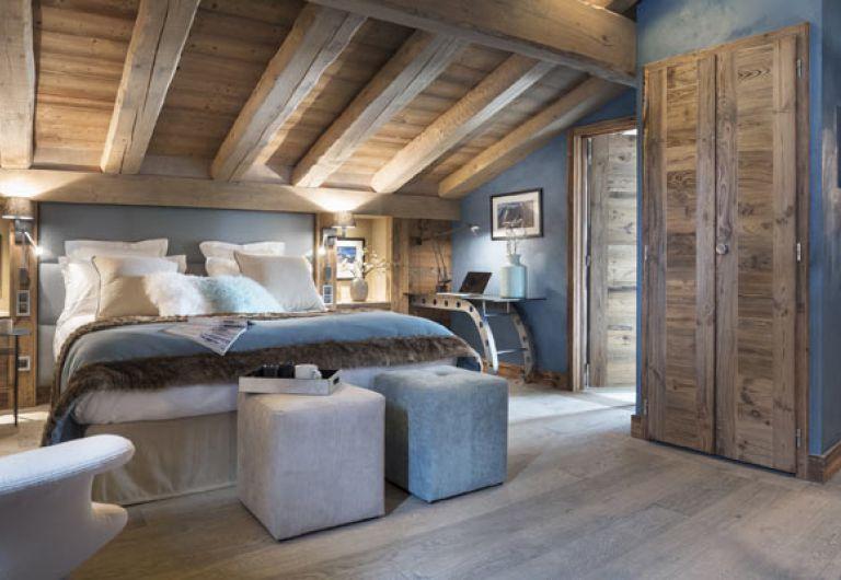L'Écrin de Jade - chambre bleu - Chamonix-Mont-Blanc | MGM