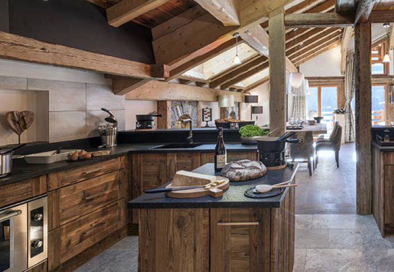 Chalet la ferme de Juliette - kitchen - Le Grand-Bornand | MGM