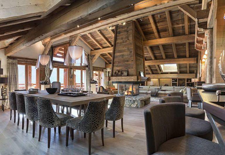 Chalet la ferme de Juliette - living room - Le Grand-Bornand | MGM