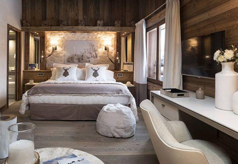 L'Écrin de Jade - chambre blanche - Chamonix-Mont-Blanc | MGM