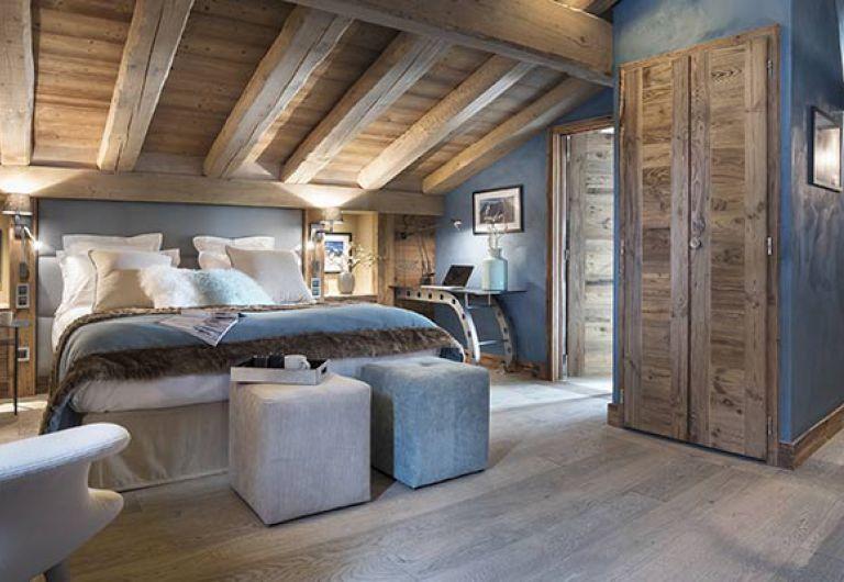 L'Écrin de Jade - blue bedroom - Chamonix-Mont-Blanc | MGM