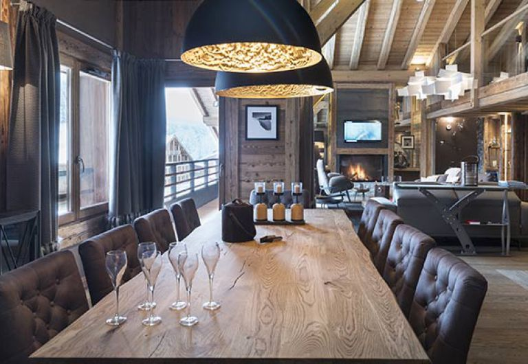 L'Écrin de Jade - living room - Chamonix-Mont-Blanc | MGM