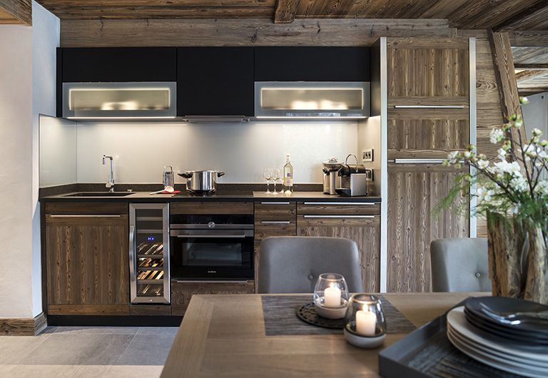 Kitchen  - Cristal de Jade***** - Chamonix-Mont-Blanc- MGM