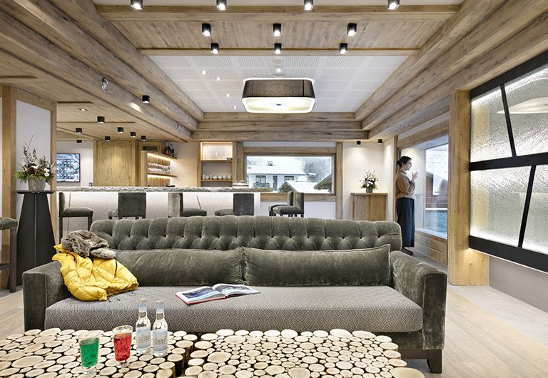 residence Chalets Éléna - Bar Lounge | MGM Hôtels & résidences