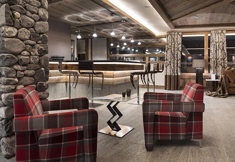 Bar lounge - Cristal de Jade***** - Chamonix-Mont-Blanc | MGM