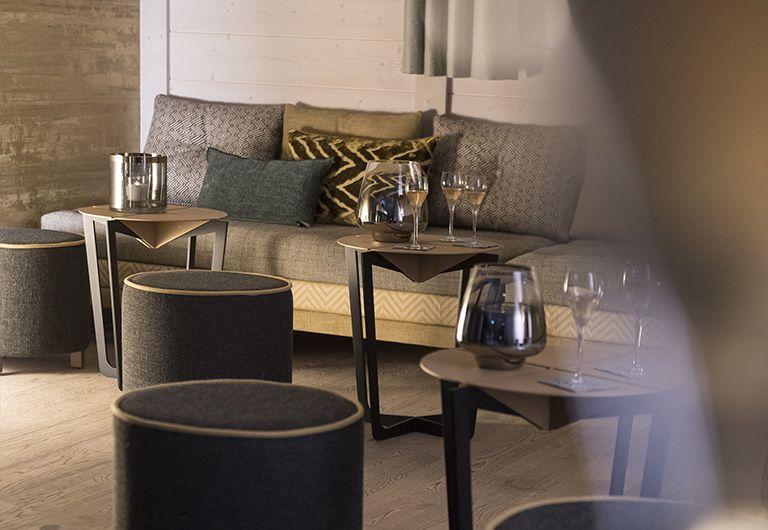Bar Lounge - Hotel les Suites du Roc des Tours - MGM Hôtels & Résidences