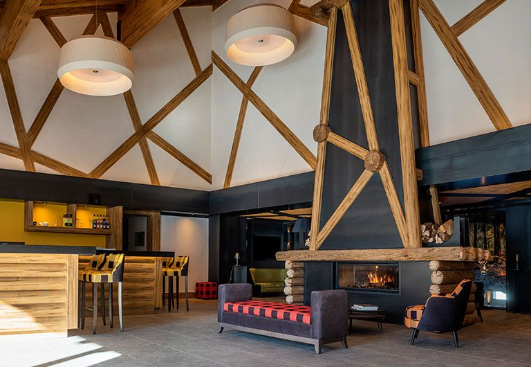 Bar Lounge  | Résidence Amaya - Les Saisies | MGM Hôtels & Résidences