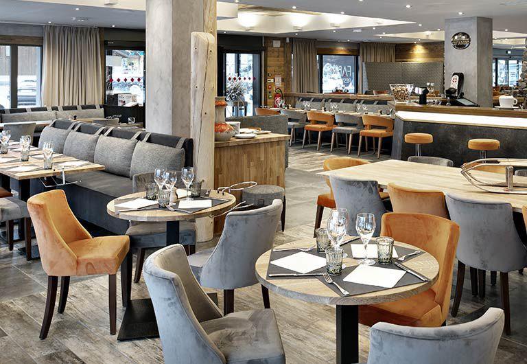 Bar Lounge et restaurant - Les Suites d'Alexane | MGM Hotels & Residence