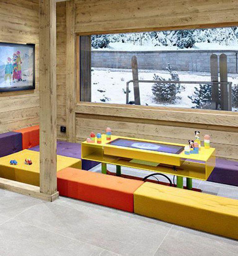 A Children's Area | Résidence Chalets Laska - Contamines-Montjoie | MGM Hôtels & Résidences