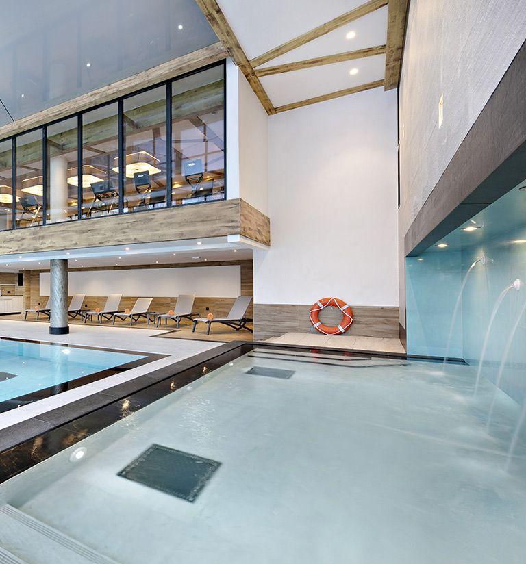 Bassin enfant - Center Wellness - Chalets Elena Aux Houches | MGM Hôtels & Résidences