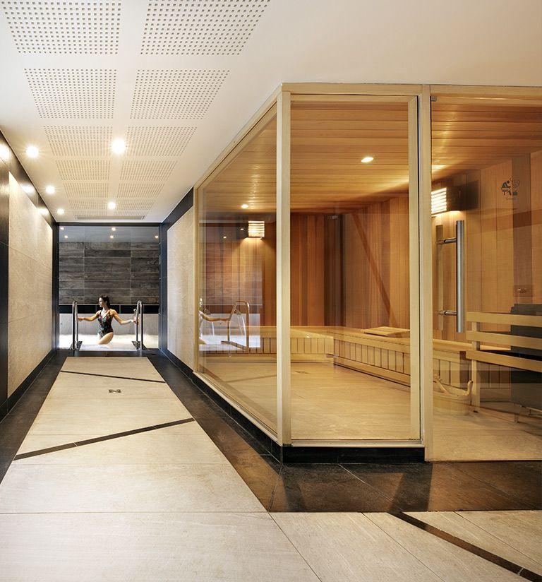 Sauna - Chalets Éléna - Les Houches | MGM Hôtels & Résidences