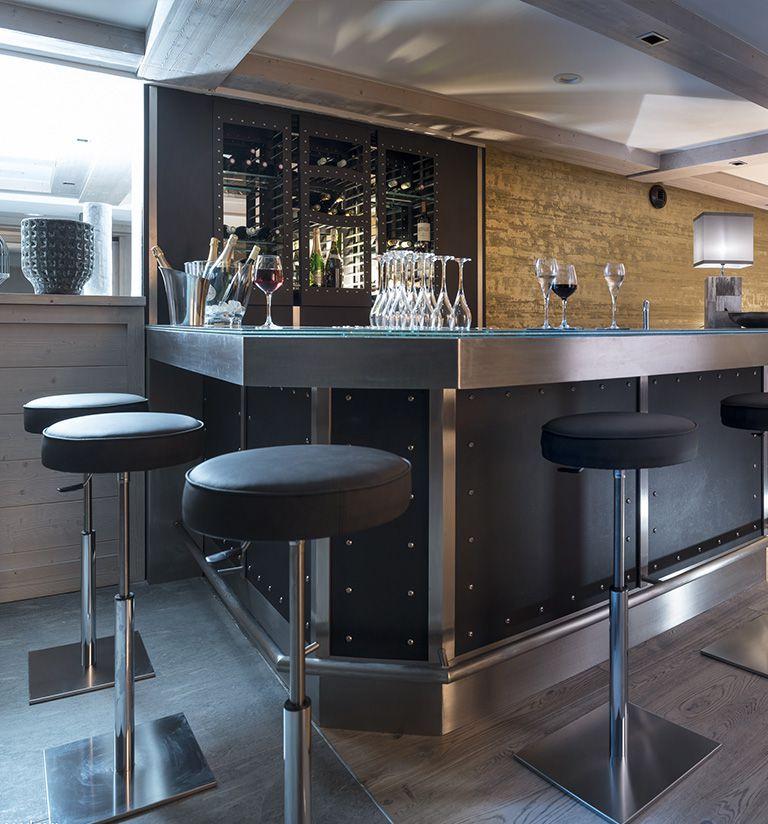 Le bar - L'hôtel Les Suites du Roc des Tours - Le Grand-Bornand