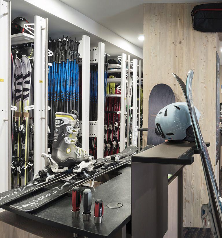 Ski shop - Le Roc des tours - Le Grand-Bornand | MGM