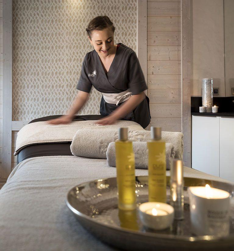 Treatment rooms - Le Roc des Tours - Les Grand-Bornand | MGM