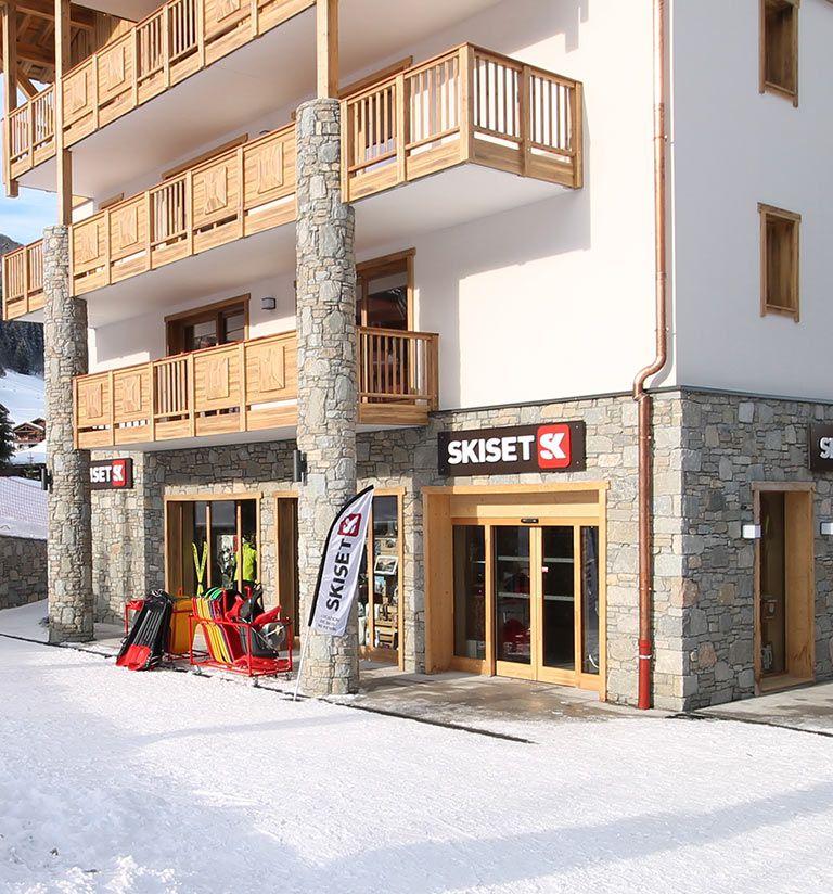 Magasin de sport skiset - Résidence Anitéa - Valmorel | MGM Hôtels & Résidences