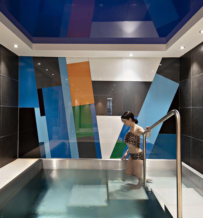 Douche sensorielle, bain nordique  - Résidence Alexane - Samoëns | MGM Hôtels & Résidences