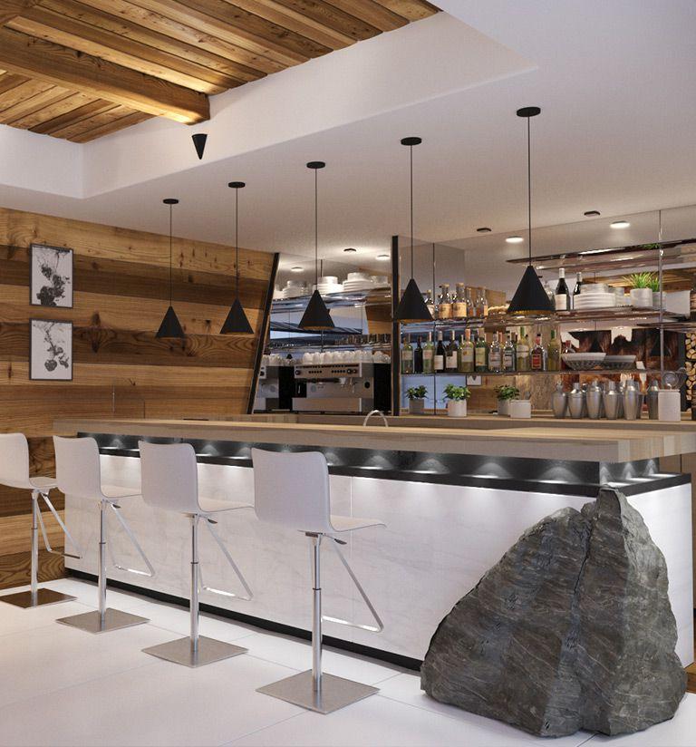 Le piano-bar - Les Suites d'Alexane Samoëns | MGM Hôtels & Résidences
