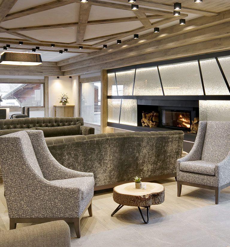 Coin cheminée - Résidence Chalets Éléna - Les Houches| MGM Hôtels & Résidences