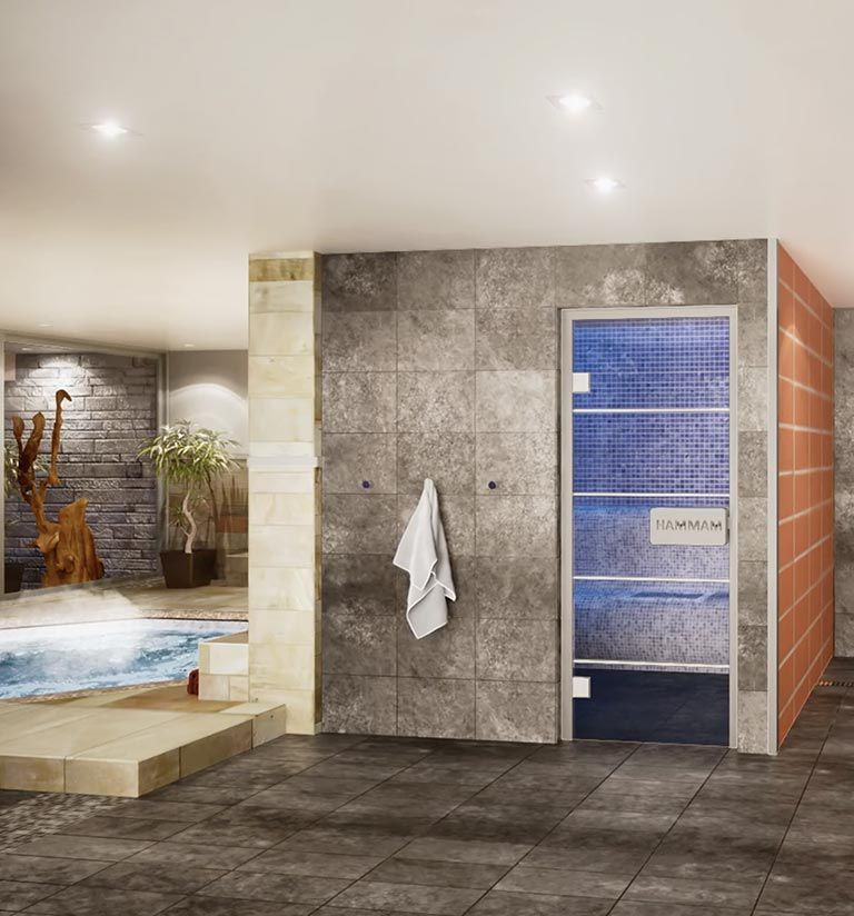 Hammam - Chalets Éléna - Les Houches | MGM Hôtels & Résidences