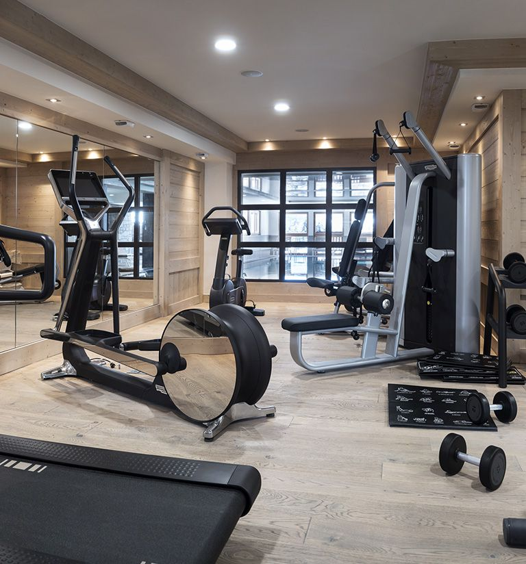 Fitness area - Le Roc des tours - Le Grand-Bornand | MGM