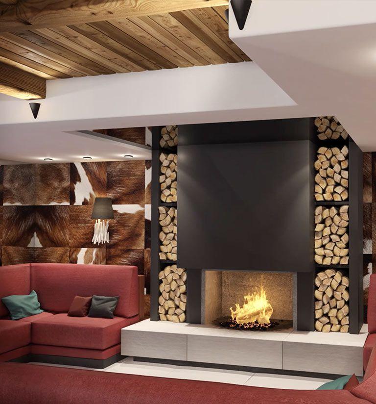 Le coin cheminée - Les Suites d'Alexane Samoëns | MGM Hôtels & Résidences
